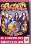 Aerosmith エアロスミス/Live in California 2007