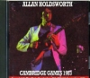 Allan Holdsworth アラン・ホールズワース/Massachusetts,USA 1983