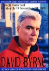 David Byrne デヴィッド・バーン/Pennsylvania,USA 2008