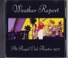 WEATHER REPORT ウェザー・リポート/At Royal Oak Theatre 77